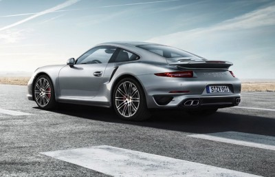 The Porsche 911 Turbo can reach top speeds of 315 kilometers per hour (kph), but not in Norway, where the maximum speed limit is 100kph. ILLUSTRATION: Porsche