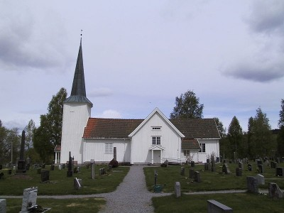 """Oppstad Church in Sør-Odal was the target of """"aggression and anger,"""" said a local police chief after the church was found vandalized and plundered over the weekend. PHOTO: Wikipedia Commons"""