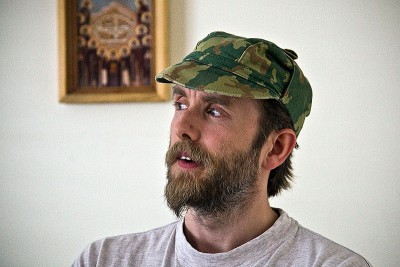 "Kristian ""Varg"" Vikernes, shown here while still serving prison time in Norway, is a self-proclaimed neo-Nazi whose 21-year sentence for murder and arson runs well into next year. He was released from prison early, though, in 2009. PHOTO: Wikipedia Commons"