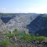 The Sydvaranger mine east of Kirkenes has been a major employer in the area but now claims its on the verge of bankruptcy. PHOTO: newsinenglish.no