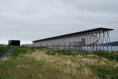 Another major new landmark in Vardø is the Steilneset Memorial to the victims of witchhunts in the 1600s. It was designed by architect Peter Zumthor, features a work of art by the late artist Louise Bourgeois and sits near the end of the National Tourist Route that runs along the Varanger Fjord. PHOTO: newsinenglish.no/Nina Berglund