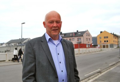 """VMayor Lasse Haughom of the Progress Party is a retired military officer who """"has a heart for Vardø,"""" according to City Council member Remi Strand of the rival Labour Party. The two parties generally clash in Norwegian politics, but seem to work together in Vardø. PHOTO: newsinenglish.no/Nina Berglund"""