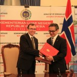 Eide strengthens ties with Indonesia