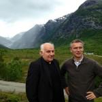 Stoltenberg opened new glacier center