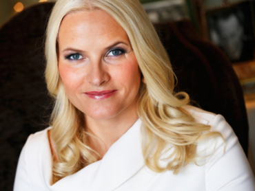 Crown Princess Mette-Marit, photographed in connection with her 40th birthday in August. PHOTO: kongehuset.no