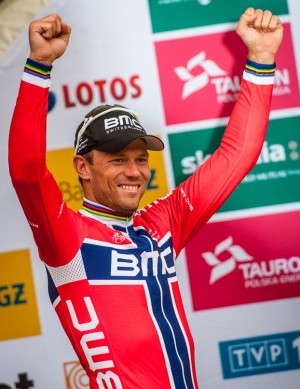 Thor Hushovd could enjoy another cycling victory this week, this time in the Tour of Poland. PHOTO: Szymon Gruchalski/tourdepologne.pl