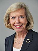 Defense Minister Anne-Grete Strøm-Erichsen