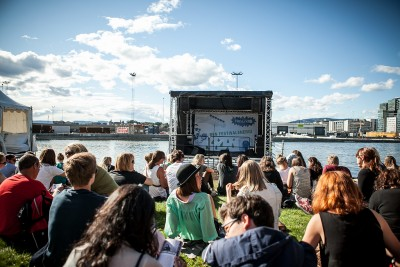 The Øya Festival in Oslo has had some major sponsors and arguably has emerged as Norway's largest cultural event of the year. PHOTO: Øya Festivalen/Facebook