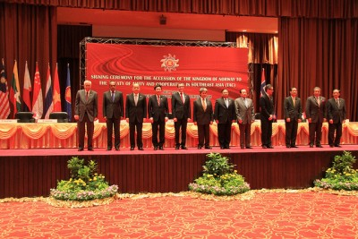 It was at an ASEAN meeting in July that Foreign Minister Espen Barth Eide had a meeting with China's new foreign minister, Wang Yi. PHOTO: Utenriksdepartementet