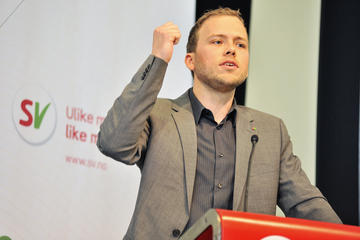 Audun Lysbakken desperately needs to revive the fortunes of the Socialist Left party he leads, if the party is to retain representation in Parliament. Voter support has fallen by more than half just since the election in 2009, when Lysbaken already was facing voter flight. PHOTO: Sosialistisk venstreparti