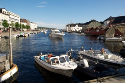 "Arendal, an historic town on Norway's southern coast, will be hosting most of the movers and shakers in Norway for the next week, when top politicians and business leaders get together for the second annual ""Arendalsuka."" PHOTO: newsinenglish.no"