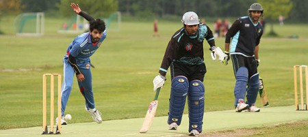 Cricket can help with integration, networking and finding jobs, according to a recent study. PHOTO: The Norwegian Cricket Federation/www.cricketforbundet.no