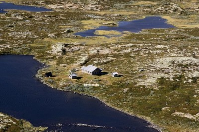 """The """"hytte"""" is located on Norway's mountain plateau of Hardanger, a half-hour's hike from the nearest parking. Its remoteness only added to the price buyers were willing to pay. PHOTO: Eiendomsmegler1 Geilo as"""
