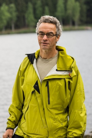 """Hansson, who celebrated his 59th birthday on Wednesday, describes himself as """"a typical Oslo guy"""" who grew up in an apartment building in Oslo but spent lots of time in the surrounding hills and forests known as """"marka."""" He spent 13 years as head of Norway's chapter of the Worldwide Wildlife Fund (WFF) before heading back into the research world. He has a leave of absence to campaign for the Greens.   PHOTO: Miljøpartiet De Grønne/Monica Løvdahl"""
