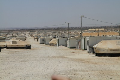 The Zatari Syrian refugee camp in Jordan is among those that have received support from Norway. Most of the refugees are  now coming to Norway from camps in Lebanon. PHOTO: Utenriksdepartementet/Frode Overland