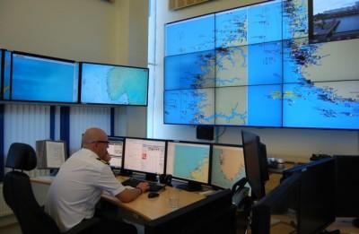 Keeping an eye on maritime movements in the far north. PHOTO: newsinenglish.no/Nina Berglund