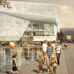 Oslo to build its troubled library