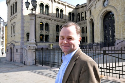 """Olemic (Olaf Michael) Thommessen is heading into a new and prestigious post as """"Stortingspresident,"""" the president of the Norwegian parliament, officially ranked second-highest in the country after the monarch. PHOTO: Høyre"""