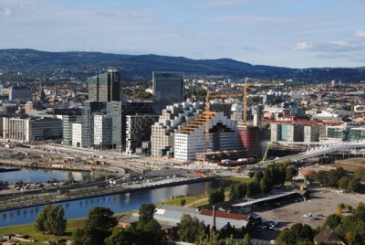 Oslo keeps growing, but now more work immigrants are heading for western Norway where job prospects are better. PHOTO: newsinenglish.no