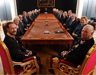 King Harald, Crown Prince Haakon
