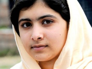 Malala Yousafzai, the now-16-year-old girl who was shot by the Taliban when she kept fighting for the right to attend school, is a favourite for this year's Nobel Peace Prize, due to be announced next week. PHOTO: malala-yousafzai.com