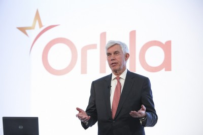 Orkla CEO Åge Korsvold has threatened that the company will move food production overseas of the new government makes too many changes in protectionist agricultural policy in Norway. The mere suggestion from a long-profitable company like Orkla has set off accusations that it's just another entrenched member of the food chain in Norway that can't exist without heavy taxpayer support. PHOTO: Orkla