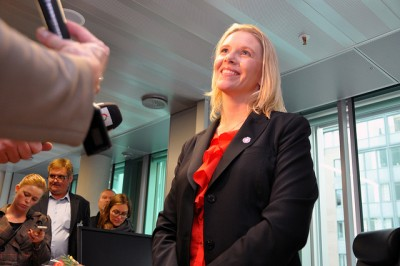 Norway's new agriculture minister, Sylvi Listhaug, faces a tough few weeks ahead as she negotiates subsidies and proposed deregulation with Norwegian farmers. PHOTO: Landbruksdepartementet