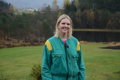 New Agriculture Minister Sylvi Listhaug posed for photos recently on her parents' farm in western Norway, Lindseth Gard. She's faced a lot of criticism from farmers and food producers who fear her plans to reform agricultural policy and liberalize markets. PHOTO: Landbruks- og mat departementet/Olav Skjedstad/Romsdals Budstikke