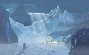 The movie is set in the kingdom of Arendelle, based on the Norwegian landscape. FOTO: Disney