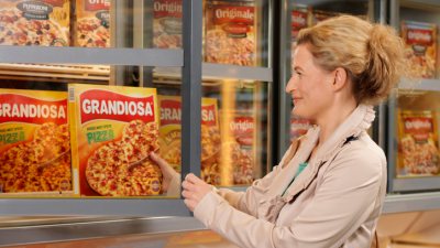 """Newspaper """"Dagens Næringsliv (DN)"""" reported that every one of Orkla's popular Pizza Grandiosas receives the equivalent of NOK 3 in state support. PHOTO: Orkla ASA"""