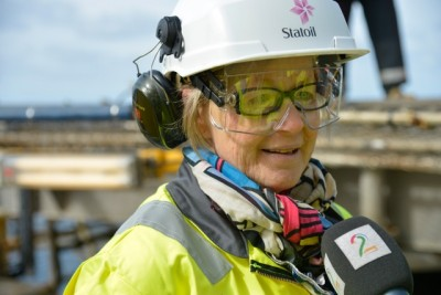 Gro Haatvedt, in charge of Statoil's exploration on the Norwegian continental shelf, was glad Statoil found more oil and gas around the Johan Castberg field. That can help justify its development, financially. PHOTO: Øyvind Hagen/Statoil ASA