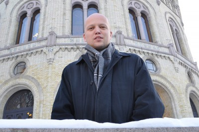 Trygve Slagsvold Vedum now seems the most likely to survive the storm around the Center Party's leadership. PHOTO: Senterpartiet