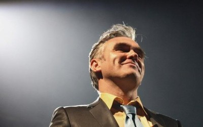 The British singer Morrissey, known for being outspoken, was among the performers booked for this year's Nobel Concert Wednesday evening. PHOTO: Nobel Peace Prize Concert/Shirlaine Forrest
