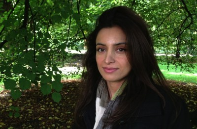 """Deeyah Khan in London, where she made the Emmy award winning documentary """"Banaz: A Love Story."""" It is now to be shown as part of the UK's police training programmes to educate officers about honour killing and the real threat faced by many young women in Britain.  PHOTO: NRK"""