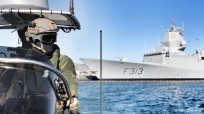 Norway has sent military vessels to help fight piracy off the coast of Somalia but hasn't yet sent any to help tackle the waves of boat refugees trying to cross the Mediterranean. PHOTO: Forsvaret