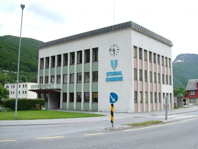 Stordal Township is at the heart of Norway's furniture industry, and officials here at city hall are getting worried about its prospects. PHOTO: Wikipedia