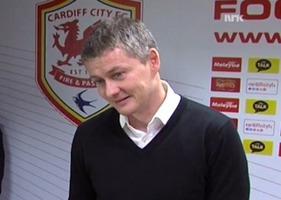 Norwegian football legend Ole Gunnar Solskjær is the new manager of Cardiff City in the English Premier League. He debuts in the role on Saturday, despite having six months remaining on his contract with Norwegian team Molde. PHOTO: newsinenglish.no/NRK screen grab