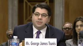 George J Tsunis had a rough time during his US Senate confirmation hearing to be the US' next ambassador to Norway. PHOTO: US Senate