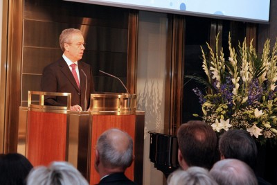 Øystein Olsen, governor of Norway's central bank (Norges Bank), covered a wide range of topics in his annual address in Oslo Thursday night. PHOTO: Norges Bank