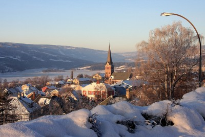 Lillehammer was the site of the Winter Olympics 20 years ago this month, and residents recalled their glory days on the eve of the upcoming Olympics in Sochi. PHOTO: Lillehammer.com