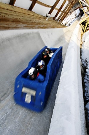 One lasting remnant from the 1994 Winter Olympics in Lillehammer is the bobsled run, which still attracts tourists. PHOTO: Lillehammer.com/Asmund Hanslien