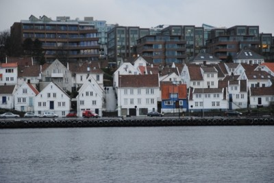 Homes and condominiums are still selling briskly in Norway. These residential units are found in Stavanger, one of Norway's priciest markets. PHOTO: newsinenglish.no