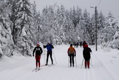 You never know who you may encounter on the ski trails in Norway. One badly injured woman recently found herself surrounded by three doctors, one of whom was an orthopedic surgeon. PHOTO: newsinenglish.no