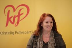 Hareide is now off on paternity leave, and his deputy Dagrun Eriksen is leading the push to force the government into changing the abortion law. She is unrepentant when faced with the fact that the vast majority of Norwegians don't want the law changed. PHOTO: Kristelig Folkeparti