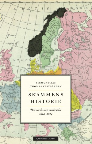 """A new book on the """"History of Shame"""" in Norway since 1814, when the constitution was written and approved, isn't meant to spoil the bicentennial party, according to its authors, but rather to get Norwegians to reflect over what their constitution really means, and whether its intentions are being carried out. ILLUSTRATION: CappelenDamm"""