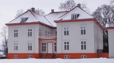 The newly restored manor house in Eidsvoll where Norway's Constitution was written and approved 200 years ago this year. PHOTO: Stortinget
