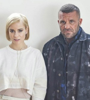 """Melgaard and Norwegian pop singer Annie felt a need to make an artistic protest against anti-gay policies, through Annie's """"Russian Kiss"""" video released when the Winter Olympics opened in Russia, where such policies have stirred protests worldwide. PHOTO: anniemelody.com"""