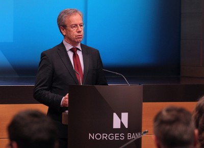 Central bank boss Øystein Olsen still didn't think the time was right to lower interest rates in Norway. PHOTO: Norges Bank