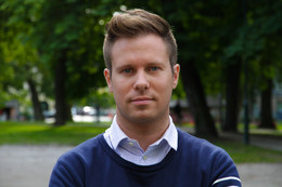 Eskil Pedersen is stepping down after four turbulent years as leader of Labour's youth organization AUF. PHOTO: AUF