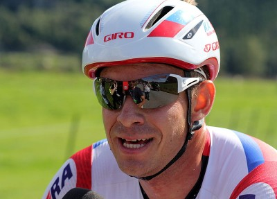 Alexander Kristoff, shown here in the Tour de Fjords race last year, was winning high praise on Monday after placing first in the tough Milano-Sanremo race on Sunday. PHOTO: Wikipedia Commons